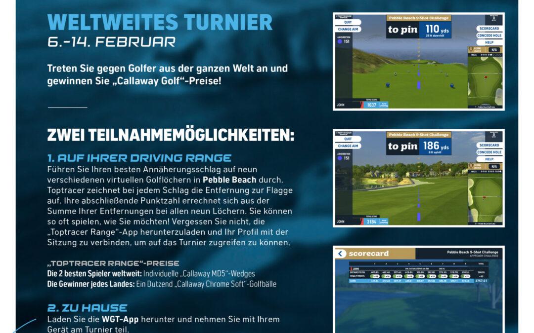 9 Shot Challenge + Virtual über das WGT Golf App