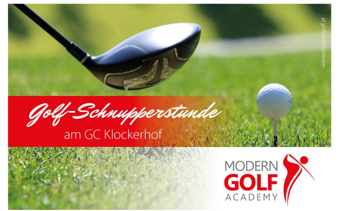 Gratis Golfschnuppern ab 02.03.2021