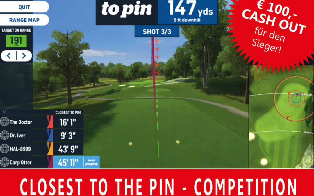 Toptracer Range: Closest to the Pin Competition August 2021