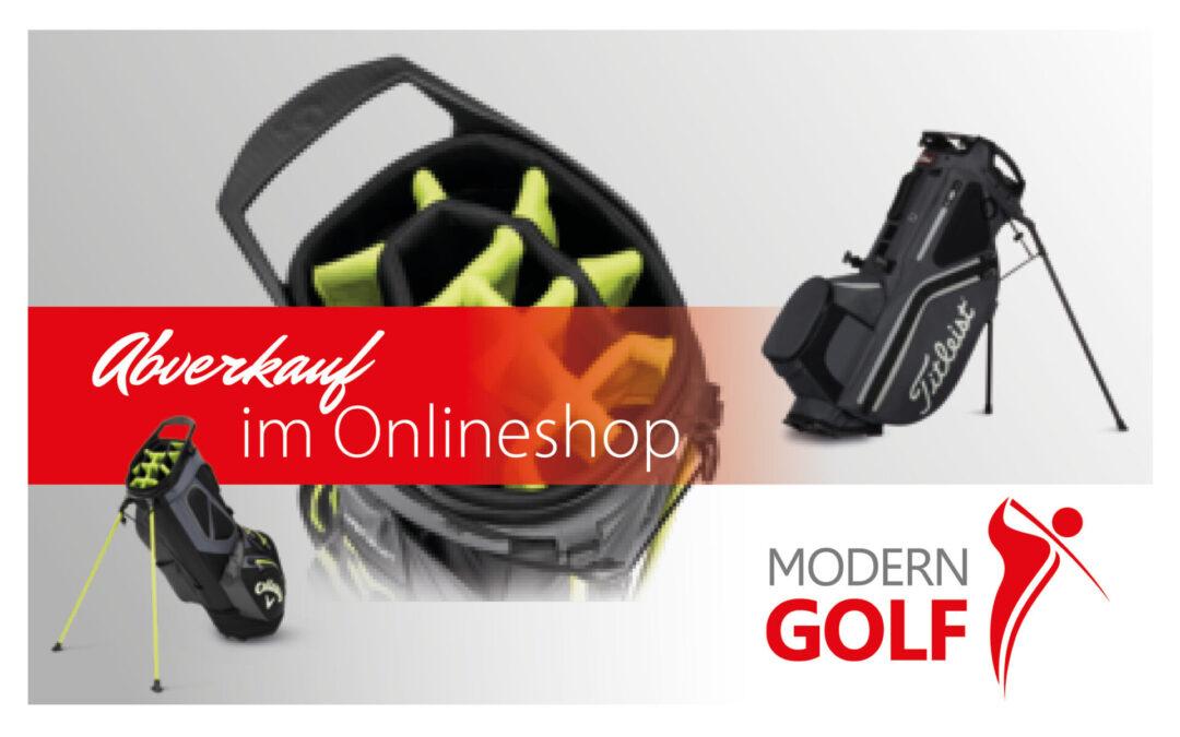 -20% auf Golfbags in unserem Onlineshop